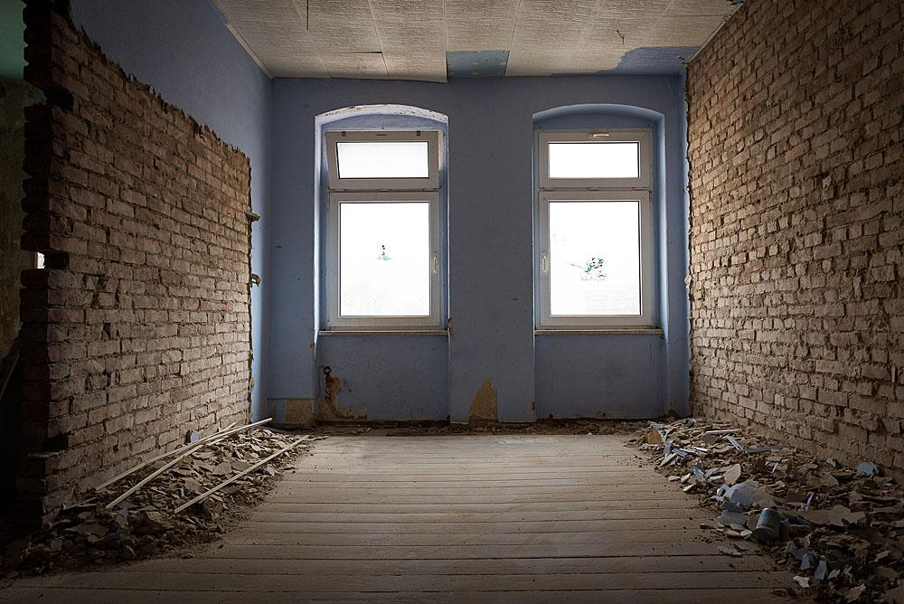 Zimmer im unsanierten August-Christl-Hauses. Foto: Marius Bauer